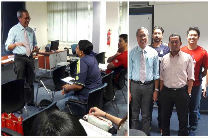 Prof. Dr. Sudarwan Danim Memberikan Kuliah Ke UM malaysia