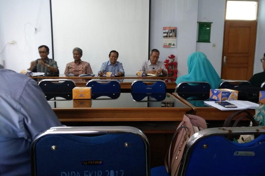 Rapat persiapan akreditasi prodi d3 bahasa inggris