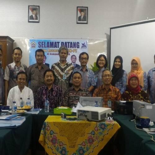 Temu Akhir Visitasi Akreditasi Prodi D3 Bahasa Inggris FKIP UNIB