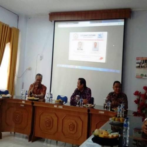 Visitasi Tim Assessor BAN-PT dalam rangka Akreditasi Prodi D3 Bahasa Inggris FKIP UNIB