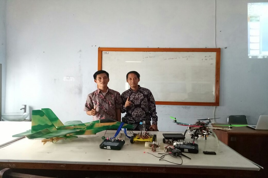 Prodi Pendidikan Fisika FKIP UNIB adakan Kegiatan Pelatihan Robotik dan Drone