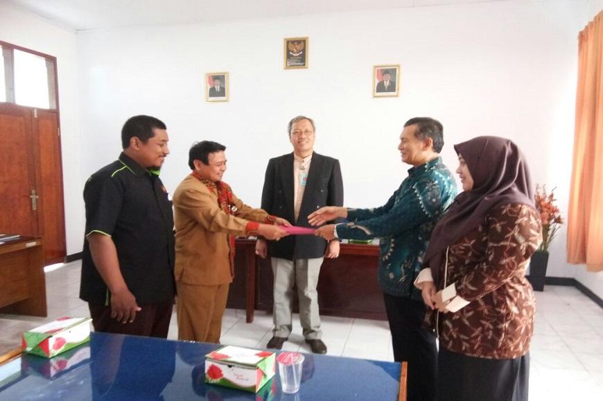 Serah Terima Jabatan Ketua dan Sekertaris Jurusan Ilmu Pendidikan FKIP UNIB Tahun 2018