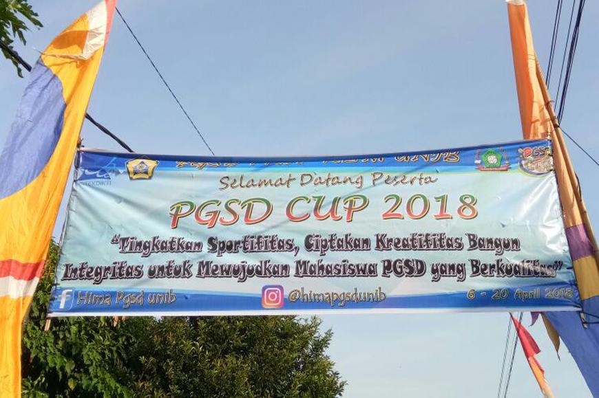 Pembukaan PGSD CUP tahun 2018