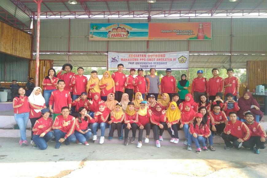 Mahasiswa PPG SM3T ikuti kegiatan Outbound di Taman Wisata Family Bengkulu Tengah