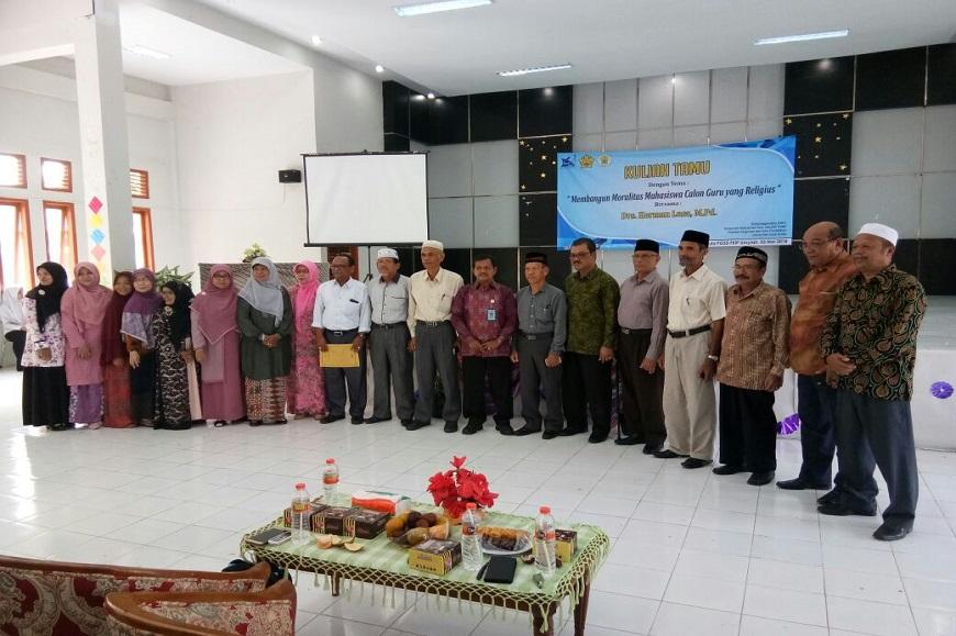 Dosen PGSD FKIP UNIB mengisi Kuliah Umum dan Kuliah Tamu di Banda Aceh