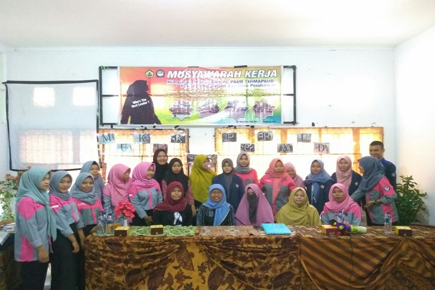 Mahasiswa Prodi PAUD adakan kegiatan Muker di Gedung PKM UNIB