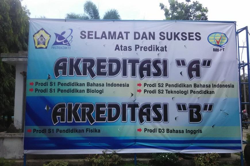 Selamat Dan Sukses Atas Hasil Akreditasi BAN-PT Program Studi FKIP Universitas Bengkulu