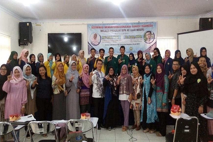 Kegiatan Diseminasi Menginternasionalkan Bahasa Indonesia Melalui Program BIPA ke Luar Negeri