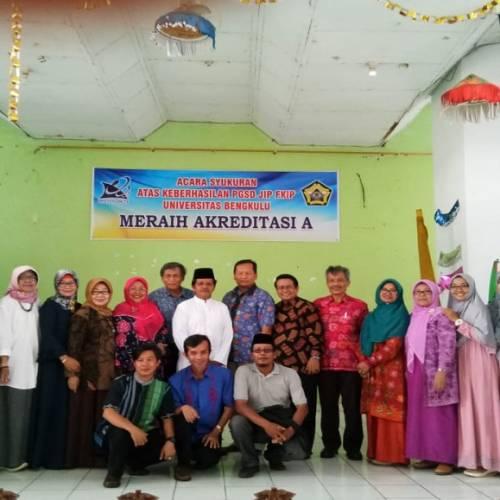 """Selamat Dan Sukses Atas Hasil Akreditasi """"A"""" BAN-PT Program Studi S1 PGSD FKIP Universitas Bengkulu"""