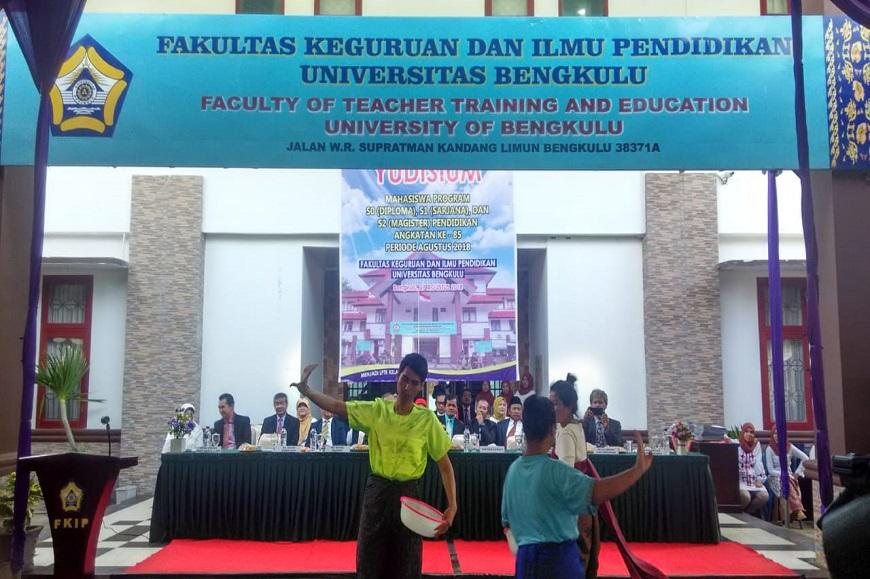 Yudisium Periode ke-85 FKIP Universitas Bengkulu Tahun 2018