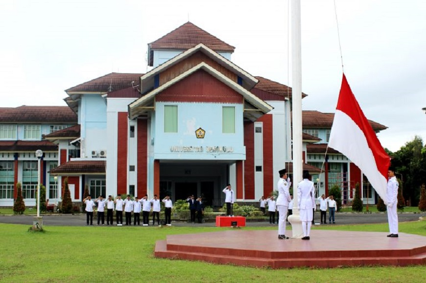 Peringati Hari Sumpah Pemuda, Universita Bengkulu Gelar Upacara Bendera