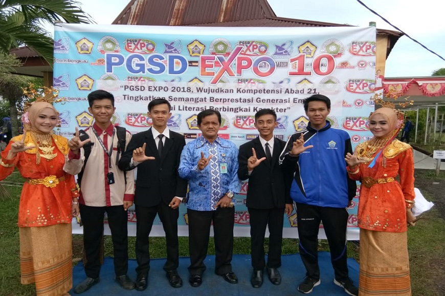 Hima Prodi PGSD FKIP Universitas Bengkulu Sukses Gelar PGSD Expo ke-X