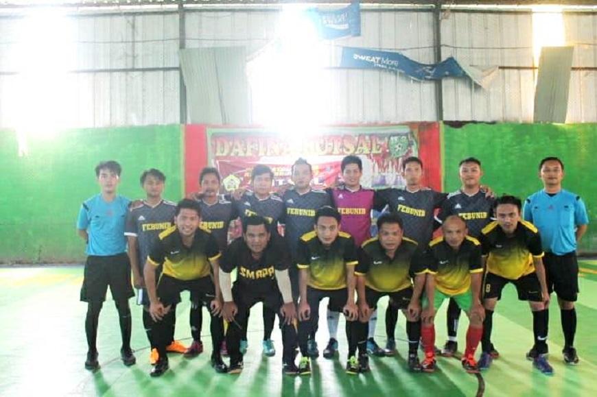 Dies Natalis Unib ke – 37 Tim Futsal FKIP Universitas Bengkulu Ikut Meriahkan Pertandingan Futsal
