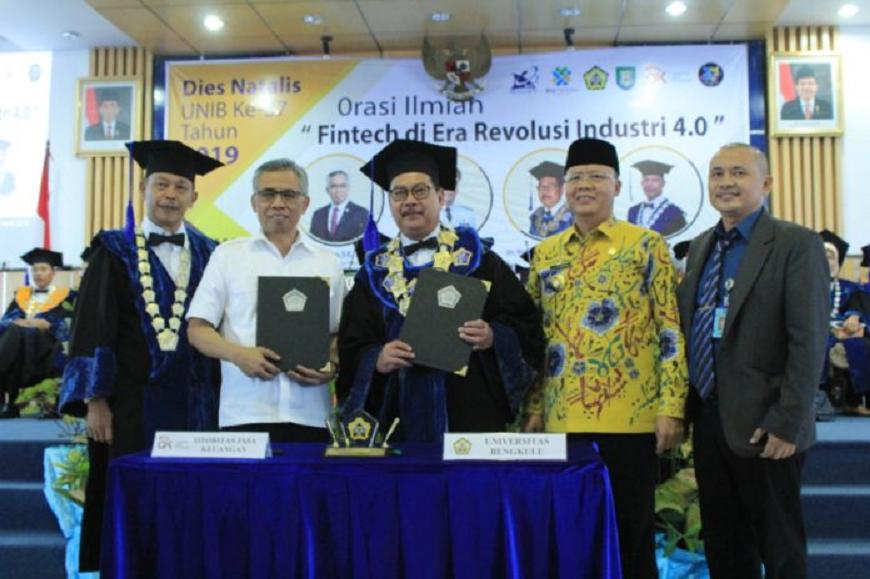 Orasi Ilmiah Dalam Rangka Diesnatalis ke-37 Universitas Bengkulu Tahun 2019