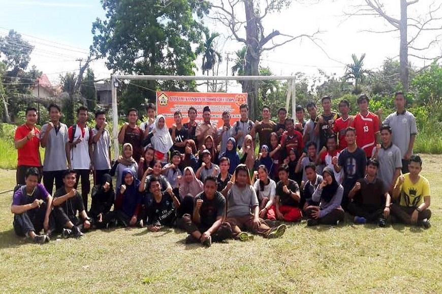 PERSAMI (Perkemahan Sabtu Minggu) Kepramukaan dan outdoor education Prodi Penjas FKIP Universitas Bengkulu