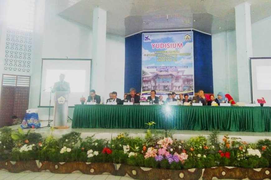 Yudisium Periode ke-87 FKIP Universitas Bengkulu