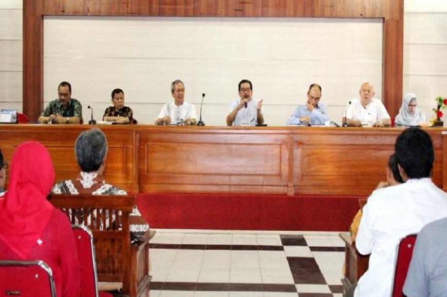 Safari Ramadhan dan Kunjungan Kerja Pimpinan Universitas Bengkulu ke Fakultas Keguruan dan Ilmu Pendidikan
