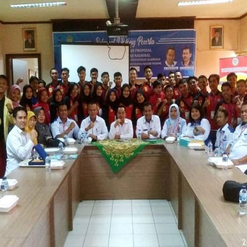Kegiatan Study Tour dan Study Banding Prodi Pendidikan Jasmani FKIP UNIB Ke Padang