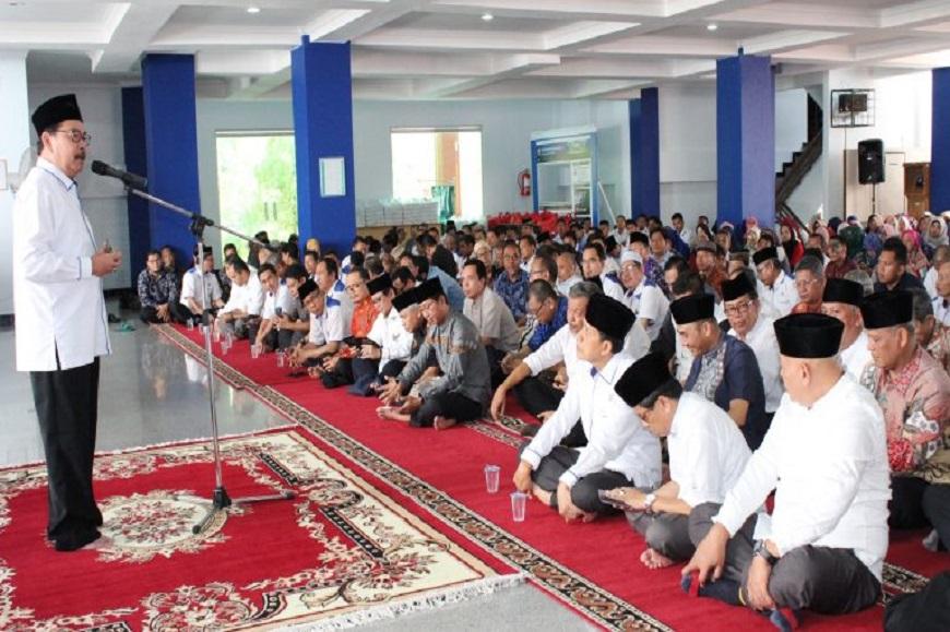Halal bi Halal, Rektor Ajak Civitas Akademika Universitas Bengkulu Tingkatkan Kinerja