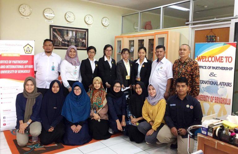 4 Mahasiswa University of Battambang Cambodia Kuliah Satu Semester di UNIB